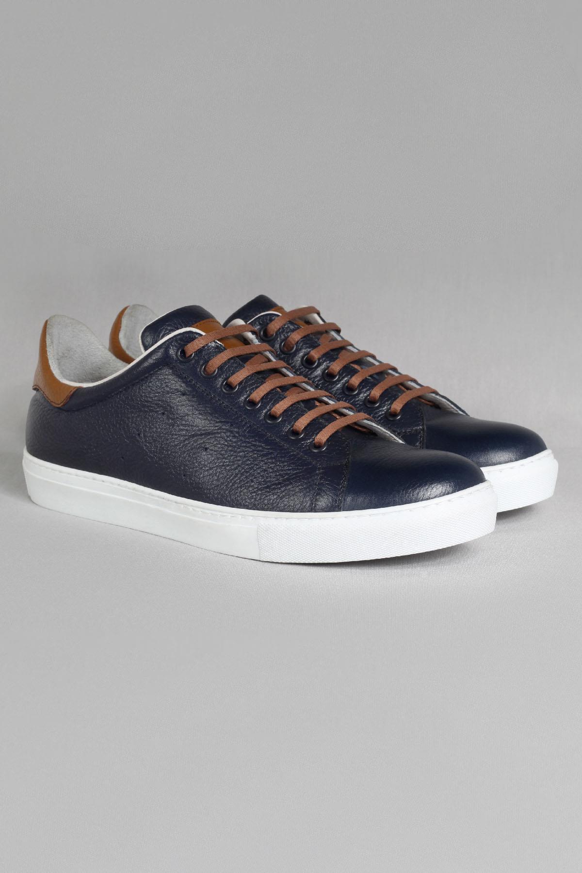 Buyuksun Hakiki Deri Erkek Sneaker Extra Pedleme Spor Ayakkabı 36.173.11